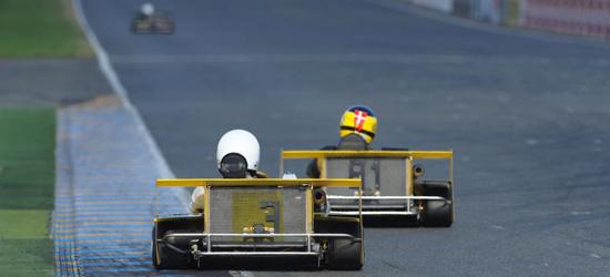 Her Henrik og Poul V på Le Mans i 2013