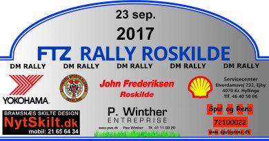 DM Rally den kommende weekend