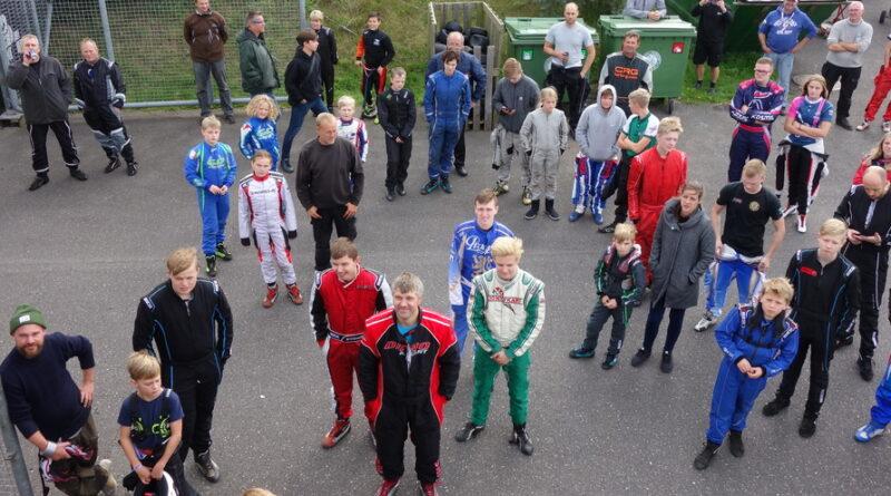 Billedet er fra et førermøde. der var desværre knap så mange deltagere til klubaftenen